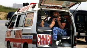 एयरपोर्ट सिक्योरिटी फोर्स के प्रशिक्षण केंद्र पर हमला, कराची, पाकिस्तान