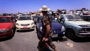 इराक़, मोसूल, पलायन
