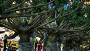 图辑:巴西世界杯开幕式