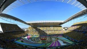 फीफा वर्ल्ड कप फुटबॉल उद्घाटन समारोह