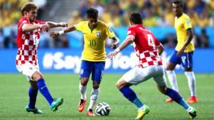 ब्राज़ील, क्रोएशिया, फ़ीफ़ा 2014, उद्घाटन मैच, साओ पाओलो के न्यू कोरिनथियंस स्टेडियम