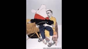 पाउलो रेगो की कलाकृति प्रिंस पिग्स