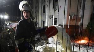 Нападение на посольство России в Киеве