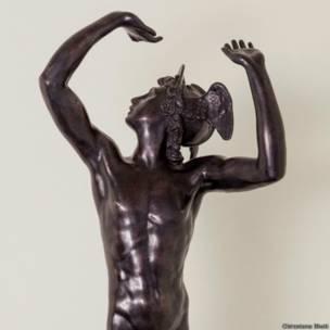 मुंबई के भाऊ दाजी लाड म्यूज़ियम में बाइबिल की कहानियों पर आधारित कलाकृतियां
