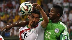Irán vs Nigeria