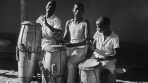 Candomblé Joaozinho Da Gomea, Ceremonias africanas, Salvador, Brasil, Pierre Verger