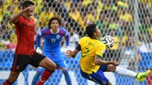 ब्राज़ील-मैक्सिको मैच, फ़ुटबॉल विश्व कप 2014, 17 जून