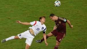 रूस-दक्षिण कोरिया मैच, 17 जून