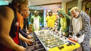 वर्ल्ड कप फ़ुटबॉल, अंटार्कटिका में फ़ुटबॉल
