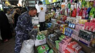 أحد أسواق العاصمة العراقية