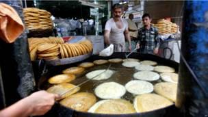 سوق في روالبيندي في باكستان