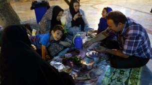 रमज़ान, ईरान, तेहरान