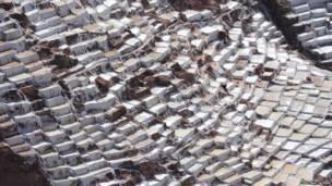 Terrazas de sal