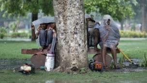 मॉनसून, बारिश, लड़के