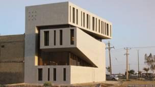 Apartamentos residenciales en Abadan (Irán).