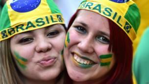 ब्राज़ील के प्रशंसक