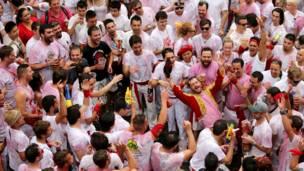 स्पेन, सांडों की रेस, रेड वाइन
