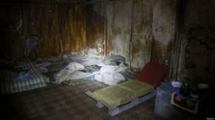 Подвал для заложников сепаратистов