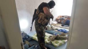 Спальня сепаратистов