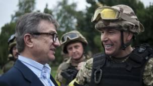 Сергей Тарута и Валерий Гелетей