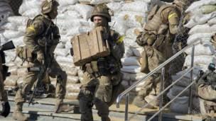 Боеприпасы сепаратистов
