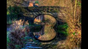 Canal Cromford, Derbyshire