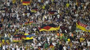 Hinchas de Alemania