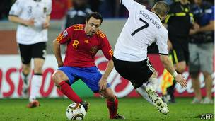Semifinales de Sudáfrica 2010: Alemania vs. España