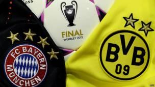 Pelota de la final de la Liga de Campeones 2013 entre Bayern Múnicha y Borussia Dortmund
