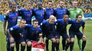 नीदरलैंड्स की टीम