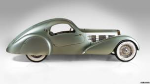 Bugatti Type 57S Competition Coupe Aerolithe  1935 года