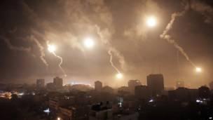 Израильские войска нанесли удар по Газе