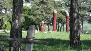 языческое капище в Полтаве