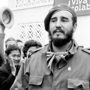 Фидель Кастро в Самарканде