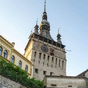 Город-крепость Сигишоара в Румынии