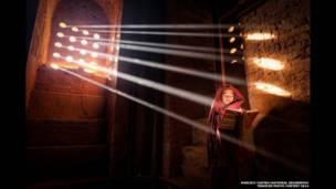 """Источник света"". Автор снимка - Марсело Кастро"
