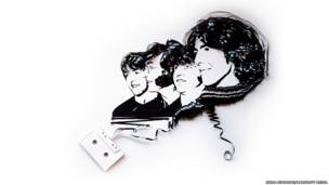 Retrato de los Beatles