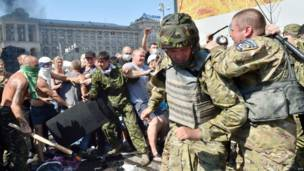 Столкновения на Майдане