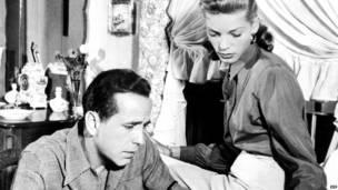 Foto: Humphrey Bogart y Lauren Bacall, 1948