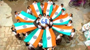 भारत, स्वाधीनता दिवस, 68वीं सालगिरह