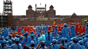 लाल किला, भारत, आज़ादी का जश्न