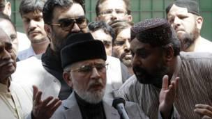 पाकिस्तान में विरोध प्रदर्शन