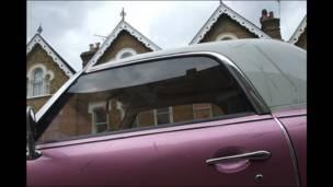 Carro rosado