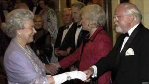 Королева и Аттенборо