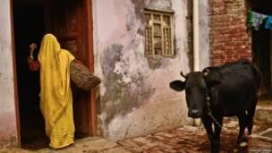 Una mujer en Kasela. Digvijay Singh