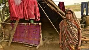 Munnidevi, del distrito de Etah. Enero de 2014. Digvijay Singh