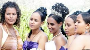 Эфиопская свадьба в Тель-Авиве