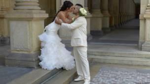 Свадьба в Карловых Варах