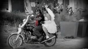 Свадьба байкеров