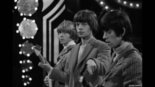 मिक जैगर, ब्रायन जोन्स और कीथ रिचर्ड्स, 1963